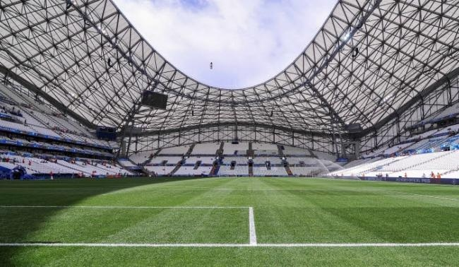 Stade Orange Vélodrome pelouse