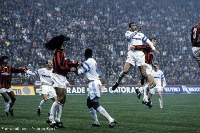 Milan-OM, Coupe des clubs champions 1991