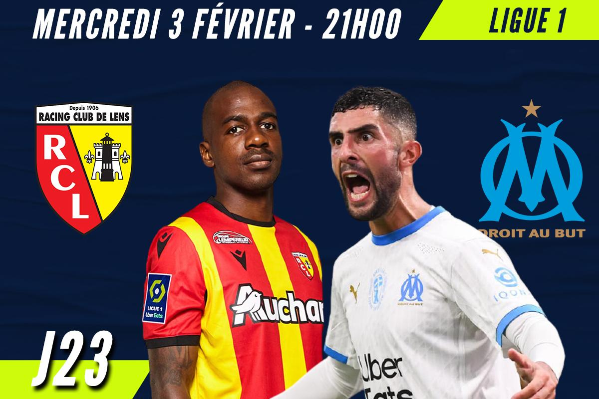 Match Lens - OM, 23e journée de Ligue 1