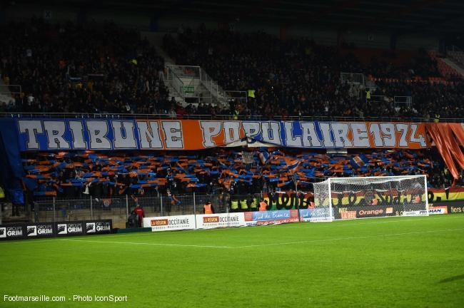 montpellier MHSC supporters