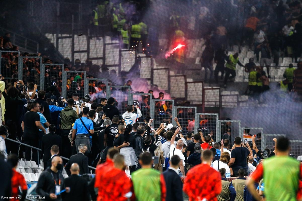 incidents entre supporters lors d'OM-Galatasaray